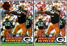 2x COLLECTOR'S EDGE 1994 REGGIE WHITE NFL PACKERS LIMITED REGULAR & GOLD #73 LOT