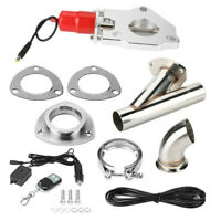 Universal YPipe Car Modification Exhaust CutOut Kit W/Remote Control 2.25in 57mm