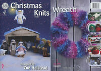 Christmas Knits Book 3 King Cole Xmas Decoration Nativity Scene Knitting Pattern