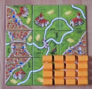 Carcassonne – Gold Mines | Goldmines | Mini Expansion | New | English Rules