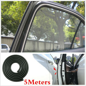 5M U-Style Rubber Seal For Car Door Window Seal-Strip Weatherstrip Protector Tip