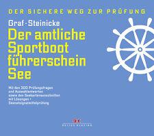Sportboot Führerschein See SBF von Graf Lehrbuch + Vorbereitung der Prüfung neu