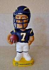 Doug Flutie #7 San Diego Charges Football Bobble Head Dobbles Figurine  7""