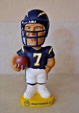 "Doug Flutie #7 San Diego Charges Football Bobble Head Dobbles Figurine 7"""