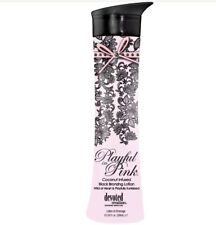 NEW & 100 AUTHENTIC PLAYFUL IN PINK BRONZER TANNING LOTION BY DEVOTED CREATIONS