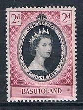 Basutoland 1953 Coronation SG 42 MNH