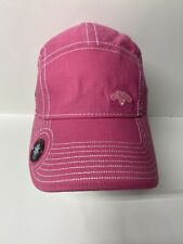 New Era Pink Callaway Womans Hat With Ball Marker