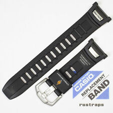CASIO black rubber watch band for PRW-1500, PRG-130, 10290980