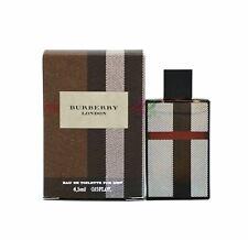 Burberry London Edt 4.5ml Perfume Eau de Toilette Men Mini Fragrances Boxed New