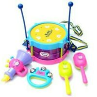Baby Boy Girl Kids Drum Set Musical Instruments Kids Baby Band Kit Toy Gift