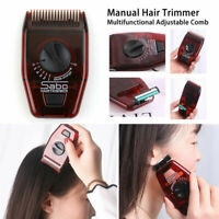 Hair Comb Trimmer Cutting Hair Split Ends Hair Manual Hair Adjustable Clipper