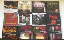 XXL MEGA HÖRBUCH-PAKET -12 KRIMI/THRILLER HÖRBÜCHER auf 64 CDs! WAHNSINNSPREIS!