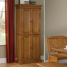 Home Styles 5004 69 Pantry Distressed Oak Finish NEW