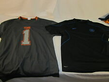 TEXAS LONGHORNS # 1 SPORTS JERSEY FOOTBALL AND NIKE TOTAL 90 SHIRT LARGE  90017