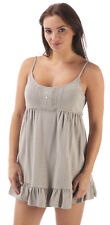 Parisienne Short Nightie Size 14-16 Strappy Top by Indigo Sky