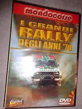DVD GRANDI RALLY DEGLI ANNI '70 1970 MOTORI MONDOCORSE SIGILLATO
