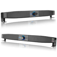 5W Fashion Speaker Sound Bar Wired Subwoofer Soundbar Receiver Stereo Super Bass