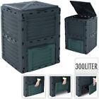 300L Composter Bin - Organic Eco Waste Compost Converter Garden Bin 300 Litre