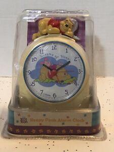 "Vintage Disney Winnie The Pooh Alarm Clock Sleepy Pooh ""Dreams Of Hunny"""