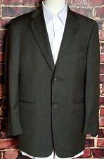 Tommy Hilfiger Men's Blazer Dress Sport Coat Size 41 R Wool Shell 2-Button Green