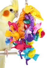 82026 Xtra Small Mardi Gras Bird Toy parrot cage toys cages foraging parakeet