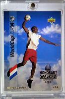 Rare Insert: 1993 Upper Deck Soccer Honorary Captain Michael Jordan #HC3 GOLD!
