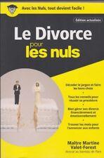 LE DIVORCE POUR LES NULS livre