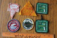 Lot of Boy Scout Patches Cub scouts 1970s Vintage