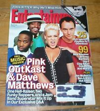ENTERTAINMENT WEEKLY mag DAVE MATTHEWS PINK OUTKAST Johnny Cash Chuck Palahniuk