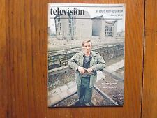 1981 St. Louis Post-Dispatch TV Mag (Richard Thomas/Donna Dixon/Berlin Tunnel 21)
