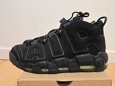 2012 Nike Air Max More Uptempo Black Volt size 13