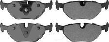 Disc Brake Pad Set-Semi-Metallic Pads Rear Autopartsource MF692