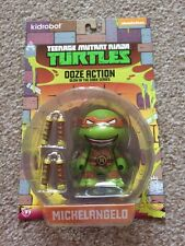 Teenage Mutant Ninja Turtles Ooze Action Michelangelo Glow In The Dark!