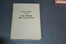 La tour du levant ou Gaspard et les bourgeois d'Ambert.  Henri Pourrat 1948