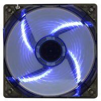 Game MAX 120mm 12CM Blue Case Fan PC 3 and 4 Pin Molex Computer Desktop Cooling