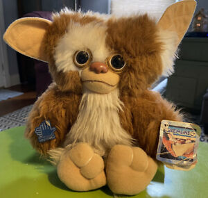 "Vintage 1984 Gremlin Gizmo Plush 12"" Stuffed Animal -w/Tags Applause Brand Movie"
