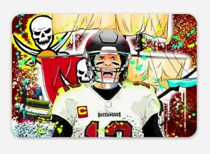 MAGNET Tom Brady 12 - Tampa Bay Buccaneers GOAT NFL Bucs for Car or Fridge TB12