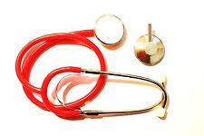 Stethoskop Stetoskop Stethoscope Rettungsdienst MHD DRK BRK Karneval, rot