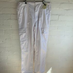 Urban Outfitters, Urban Renewal White Cargo Trousers W34 RRP£45