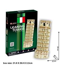 3D Puzzles Leaning Tower of Pisa (Italy) DIY Jigsaw 13PCS C706h