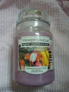 New Yankee Candle banana flower large  jar -  great gift