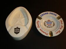 Circa 1970s Texas Beer Ashtrays – Lone Star, Grand Prize
