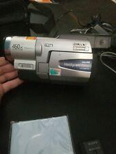Sony Handycam CCD-TRV68 Hi-8 Analog Camcorder, case, 2 batteries, charger, av cd