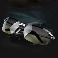 Mens Aviator Polarized Sunglasses UV-400 Outdoor Sports Driving Glasses Eyewear