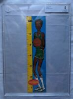 1969 Topps Rulers Basketball #10 Lew Alcindor RC Rookie HOF BECKETT BGS 5