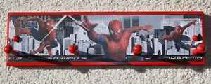spiderman 3 wall coat towel rack