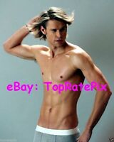 CHORD OVERSTREET  -  Glee's Barechested Hunk (Gay Int.)  8x10 Photo