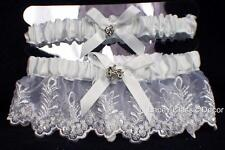 ATV 4 Wheeler  2 Pi set Wedding bridal bride toss arm band Garter small-xl lot