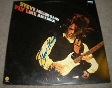 STEVE MILLER AUTOGRAPHED FLY LIKE AND EAGLE RECORD
