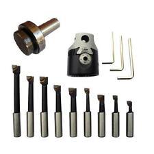 Tête à Aléser 50mm arbre diamètre 20mm + 9 outils barre à aléser Précision 1/100
